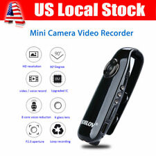 HD 1080P 90° Mini Camcorder Dash Cam Police Body Motorcycle Motion Camera DVR