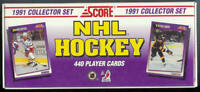 1991-92 Score American complete hockey factory set