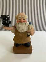 Vintage David Frykman Santa Crafted Figurine W/you Train 1995 DF1270D
