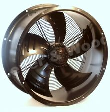 Industrial Kitchen Duct Commercial Extractor Cased Axial Fan 500mm 6pole 1phase