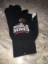 2016 world series black baseball gloves Memorobillia Master Card