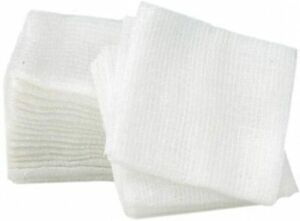 Cotton Gauze Swabs Non-Sterile 8 ply 10cm x 10cm Latex Free First Aid 100pcs