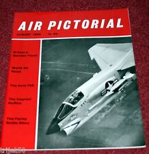 Air Pictorial 1960 August Aero 145,Bf109,Fairey Battle,Caproni Raffica