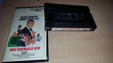 Video 2000 Rarität - 007 Sag Niemals Nie - Sean Connery - Constantin Erstauflage