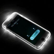 LED Flash Light UP Remind Incoming Call Shockproof Cover Case iPhone 6/7/8 Plus