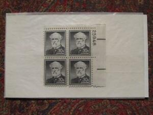 ROBERT E. LEE - US POSTAL STAMP SET - 4 STAMPS - PN#25948 - WITH ARCHIVAL COVER