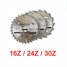 Hartmetall Sägeblatt Set 165 mm Z16 Z24 Z30  für EINHELL RT CS 165 METABO KSA 18
