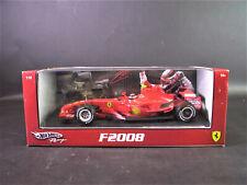FERRARI F2008 - Kimi Raikkonen - Hot Wheels 1:18