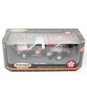 "Matchbox 1999 Ford F-Series Super Duty Holmes 440 Texaco Wrecker in Box 10"""