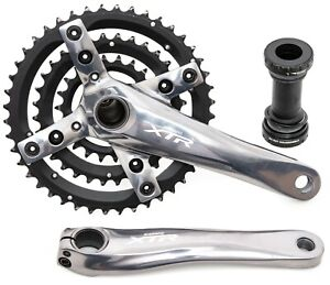 Shimano XTR FC-M960 3 x 9 Speed Mountain Bike Crankset 175mm 44/32/22T MTB XC
