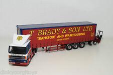 CORGI TOYS 75408 DAF 85 TRUCK WITH TRAILER BRADY & SON LTD + MOFFET KOOI N MINT
