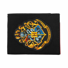 HARRY POTTER HOGWARTS SCHOOL OF WITCHCRAFT AND WIZARDRY BADGE WALLET *BRAND NEW*