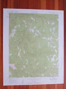 Rail Road Flat California 1958 Original Vintage USGS Topo Map