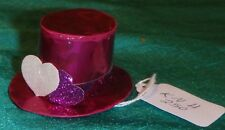 Pink Hearts Paper Top Hat, Pink Sparkle Band & 3 Hearts Ken Barbie Dolls KNH250
