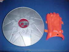 1986 THUNDERCATS LION-0 SWORD OF OMENS-SHIELD-CLAW-MASK & BELT MATTEL HG TOYS