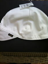 Welding Caps LAPCO  White (6 caps)  NWT Size 7 5/8 NWT