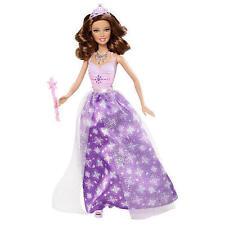 Barbie Modern Princess Party Doll Brunette Purple Dress 2011 Girl NEW