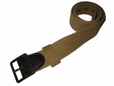 RRL Ralph Lauren Polo Tan Air Force Trench Belt 34 Leather Plaque Accessory