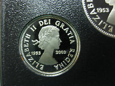 2003 50th Anniversary Coronation of Queen Elizabeth II Canadian Silver Dime