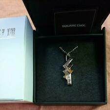 FINAL FANTASY XIII Silver Pendant / Necklace Lightning SQUARE ENIX Official