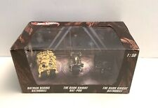 HOT WHEELS 1/50 BATMAN BEGINS BATMOBILE THE DARK KNIGHT BAT-POD THE DARK KNIGHT