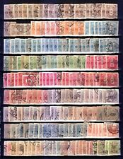 Japan #127-145 many stamps used