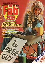 Fab 208 Magazine 8 November 1975     Russell Mael of Sparks     Mud