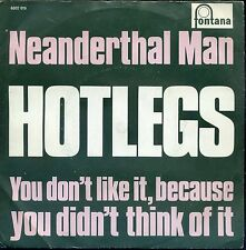 7inch HOTLEGS neanderthal man HOLLAND EX +PS