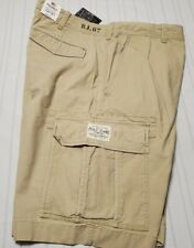 New Polo Ralph Lauren Chino Cargo Shorts  Men's Size 38 Tan