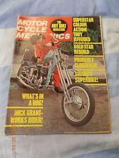 Motorcycle Mechanics(oct72)GT 750/3TA Gearbox/OSSA/BSA Gold Star/CB125/