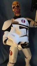 "HORROR STAR WARS Custom 12 inch Figure ""CLONE TROOPER Z"" ZOMBIE  by Screwy Luie"