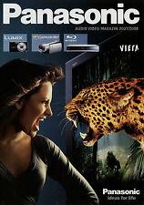 Catalogo Panasonic Audio Video rivista 2007 2008 TV Cuffie Camcorder DV