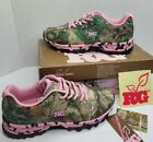 REALTREE GIRL Mamba Camo Pink Sneakers Athletic Hunting Hiking Shoes Women 9.5 M
