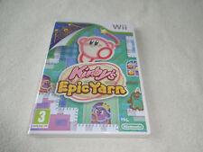 Kirby's Epic lavorerai RVL-rksp-prendi NINTENDO WII GIOCO NUOVO NEW SEALED