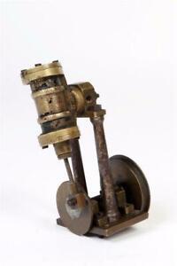 Vintage ~ Vertical Steam Engine                                         #2151