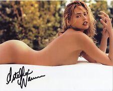 ESTELLA WARREN: SI and Victoria's Secret Model: Sexy Color Photo Autographed