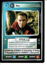 Star Trek CCG Holodeck rechange IMAGE RARE CARTE Weiss (Fédération)