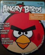 Angry Birds Eggcessory Easter Decorating Kit 54 Piece New