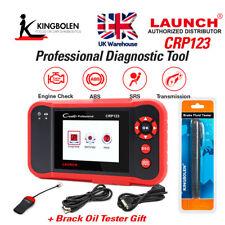 Launch X431 CRP123 Creader VII+ ABS SRS Code Reader OBD2 Scanner Diagnostic Tool