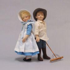 "R. John Wright Tasha Tudor ""Tom"" Collectible Doll USA Handmade"