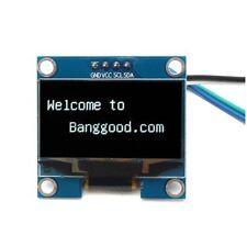 1.3 Inch 4Pin White OLED LCD Display 128*64 IIC I2C Interface Module N8J2