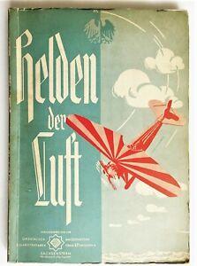 Sammelbilderalbum Helden der Luft, Luftfahrt tut Not, Orami 1933 sehr selten