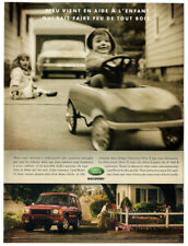 2001 LAND ROVER Discovery Series II Vintage Original Print AD - Red car photo