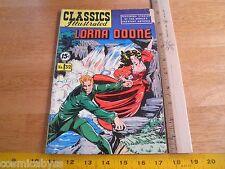 Classics Illustrated #32 Lorna Doone comic book Golden Age Vg Hrn 118