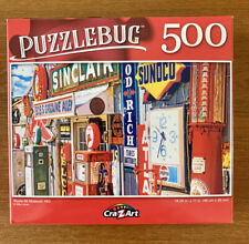PUZZLEBUG - ROUTE 66 MUSEUM, MO - 500 PIECE JIGSAW PUZZLE - **NEW IN BOX**