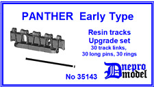 PANTHER Early type Resin tracks Upgrade set 1/35