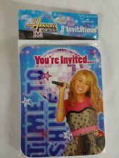 Hannah Montana Birthday Party Invitations New Free Shipping