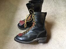 Wesco Highliner 9710 Mens boots 9E Great shape!