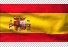 Spanish Royal Drapeau 2X2FT 3X3FT 4X4FT 5X5FT 6X6FT 100D Polyester