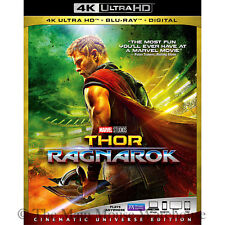 Marvel Thor Ragnarok 4K Ultra HD Blu-ray Digital Copy Cinematic Universe Edition